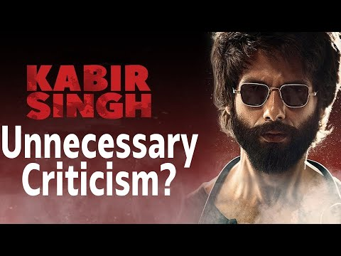 Why Kabir Singh&39;s Criticism Is Unfair  Shahid Kapoor   Kiara Advani