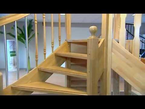 Houten trappen op maat gemaakt ook voor een vaste for Houten trappen op maat gemaakt