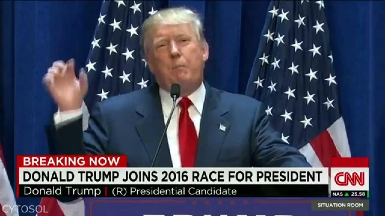 Donald Trump Presidential Speech - MLG Edition - YouTube