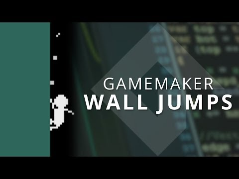GameMaker Studio 2 - Wall Jumps With Momentum