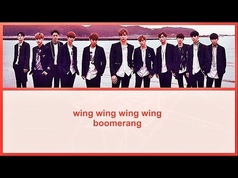 [Karaoke/Instrumental] WANNA ONE - BOOMERANG by GOMAWO