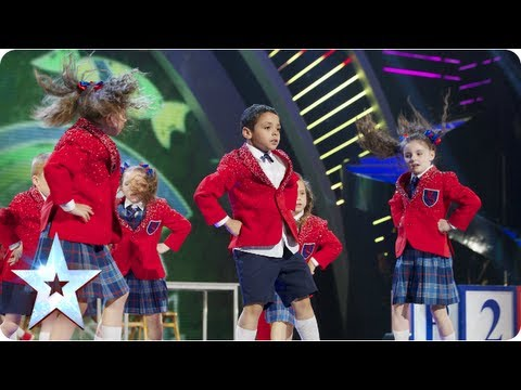 PreSkool rule the playground with their dance moves  Final 2013  Britain's Got Talent 2013