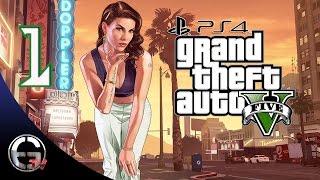 Grand Theft Auto V PS4 Türkçe Oynanış - Bölüm 1 : Yurdumdan Los Santos Manzaraları