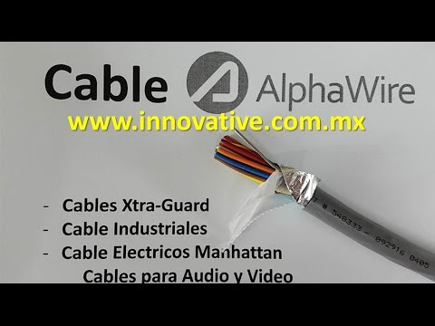 Cable AlphaWire Mexico