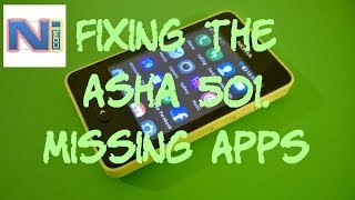 Download lagu Fix Nokia Asha 501/5XX Missing Apps