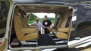 Canadian father and son circle the globe in helicopter