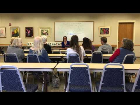Keira Gillett Author Talk Q&A Session 12-19-15