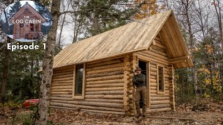 Build a Log Cabin with Fence Posts In My Backyard