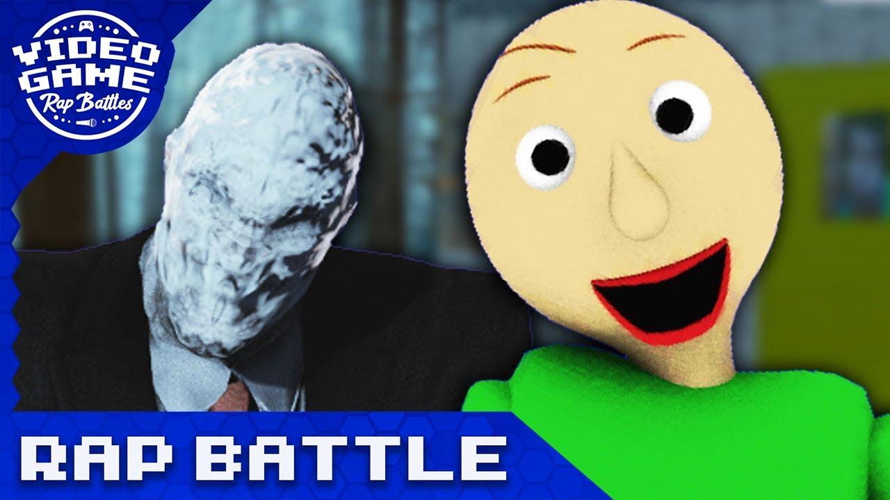 Slender Man Vs Baldi S Basics Video Game Rap Battle Youtube
