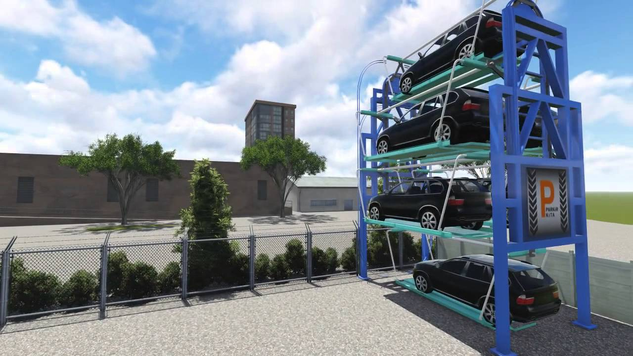 Parkirkita Is Automated Rotary Parking System Youtube