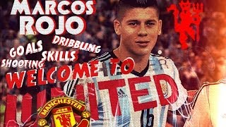 Manchester United | Marcos Rojo |  Skills | Goals | Passes | W…