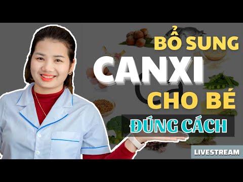 Cách bổ sung Canxi cho bé như thế nào cho đúng I Dược Sĩ Mỹ Trần