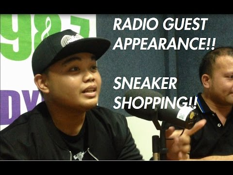 SNEAKER SHOPPING AT ADIDAS! IS BOOST LIFE?! RADIO GUEST APPEARANCE!!!