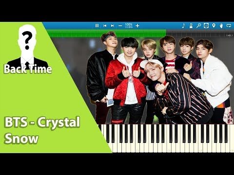 BTS - Crystal Snow (방탄소년단) (Piano Cover) + Sheets