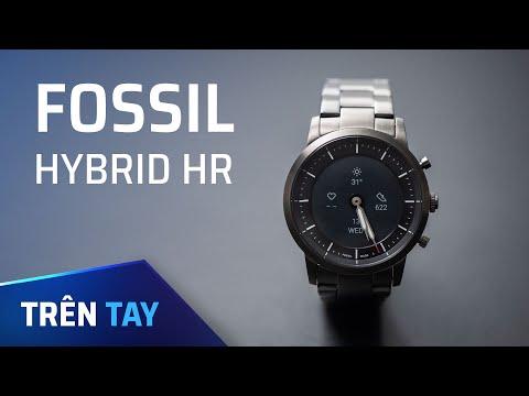 Fossil Hybrid HR - Đồng Hồ Lai Với Màn Hình E-ink Luôn Sáng