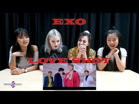 [MV REACTION] LOVE SHOT - EXO | P4pero Dance