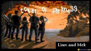 Wolfenstein 3D: Cover of Darkness gameplay (PC Game, 1992)