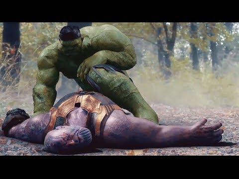 Вот что совершит Халк в Мстители 4: Финал! Серьёзные Спойлеры!