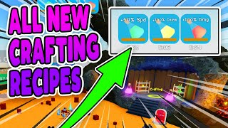 ALL NEW CRAFTING RECIPES UNBOXING SIMULATOR - Roblox