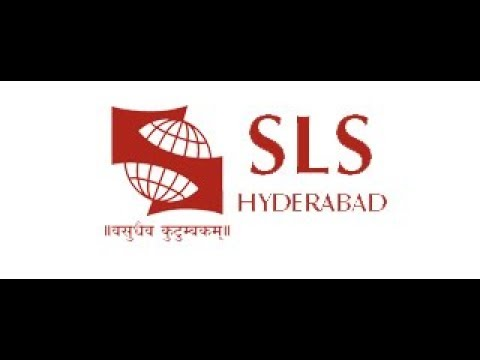 Guest Lecture Symbiosis Law School Hyderabad SIU SLS Hyderabad Academic year 2017-18