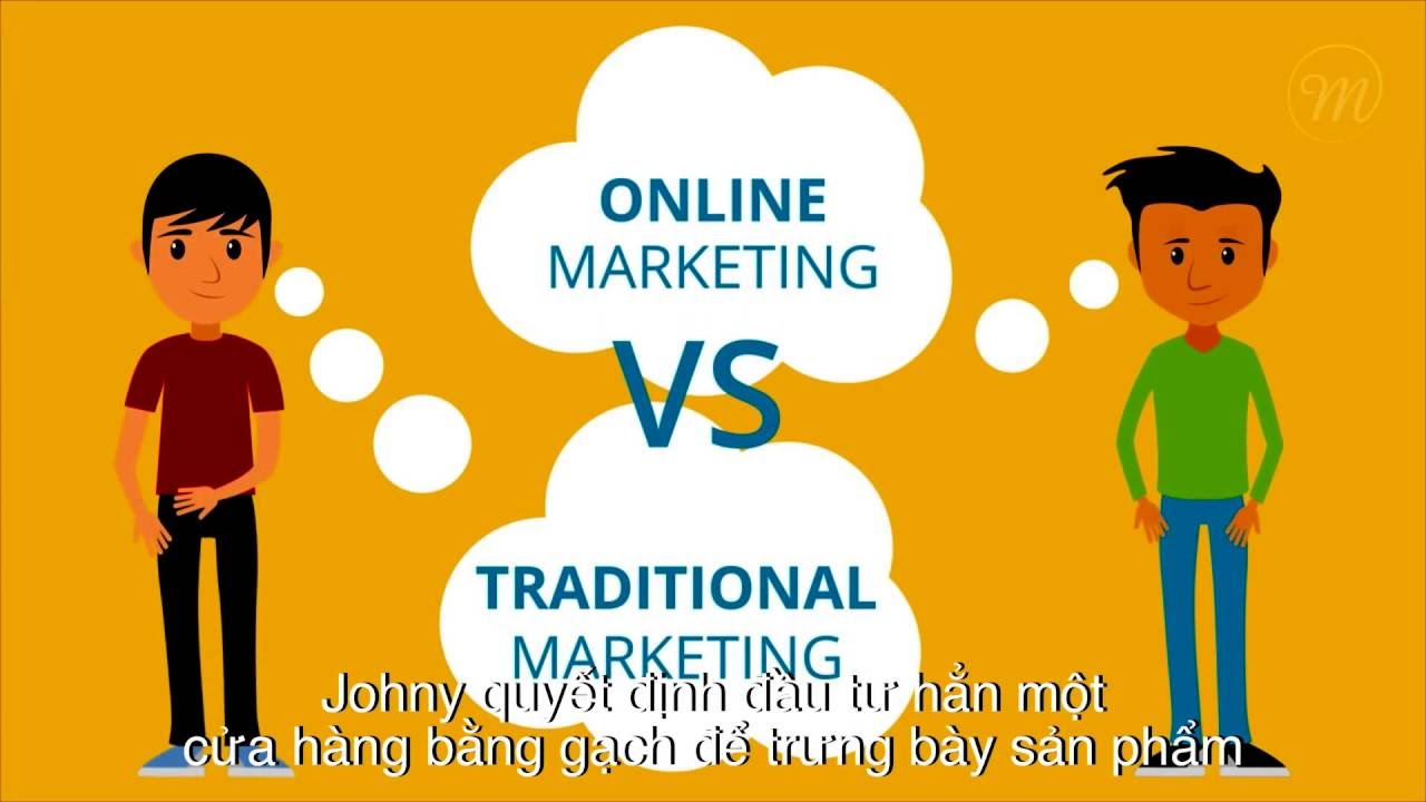 Định nghĩa Marketing Online là gì? khác với Marketing truyền thống như thế nào?