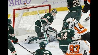 Philadelphia Flyers vs Minnesota Wild, 14 november 2017