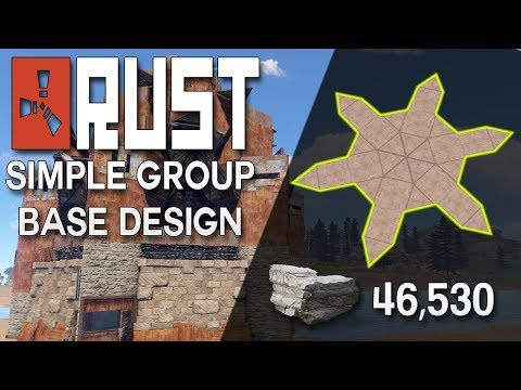 Open Concept Rust Solo Or Duo Base Design Rust Base B