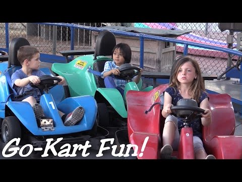 Family Activity: Hulyan's Outdoor Go-Kart Ride - Summer Playtime 2015!