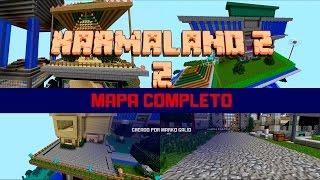 Descarga Mapa Completo Karmaland 2 | Vegetta777 | ByStaxx | Pueblo | Minecraft 1.7.10 |