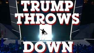 TRUMP THROWS DOWN - Songify 2016