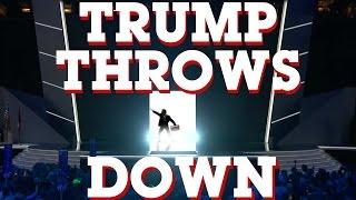 TRUMP THROWS DOWN - Songify 2016