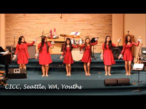 CICC, Seattle, WA, Youths, Christmas Acting Song