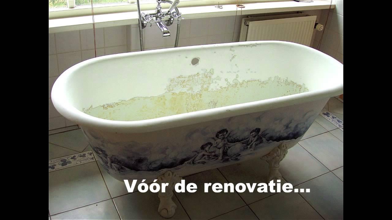 Bad Op Pootjes : Renovatie bad op pootjes badkuip emailleren of heremailleren