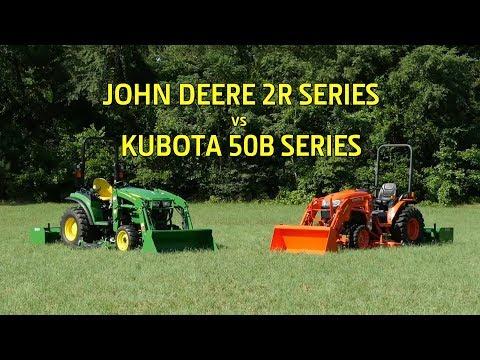 John Deere 2032R 32-hp Compact Utility Tractor