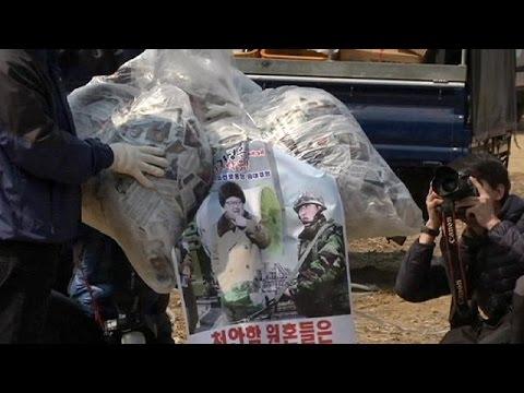 Güney Kore'den Pyongyang'a Broşürlü Protesto