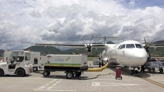 A Domestic Flight in Laos: Vientiane to Luang Prabang