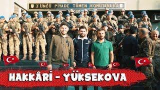 HAKKARİ'DE ASKERLERİMİZLE BİR GÜN GEÇİRMEK!