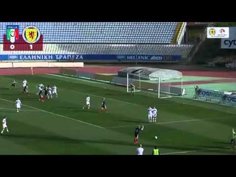GOALS: Italy Women 1-2 Scotland Women