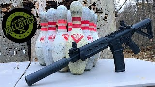 Full Auto AR-15 vs Bowling Pins (Full Auto Friday)