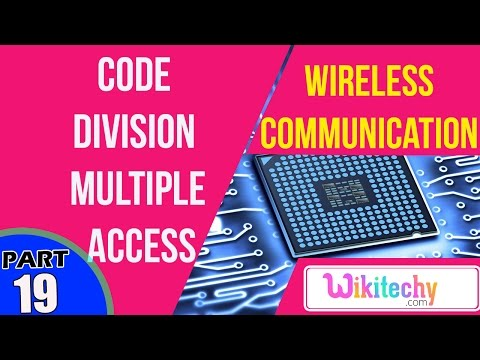 What is code division multiple access | Wireless Communication Interview Questions And Answers