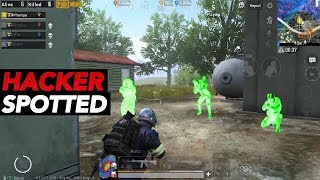 PUBG MOBILE HACKER SPOTTED!