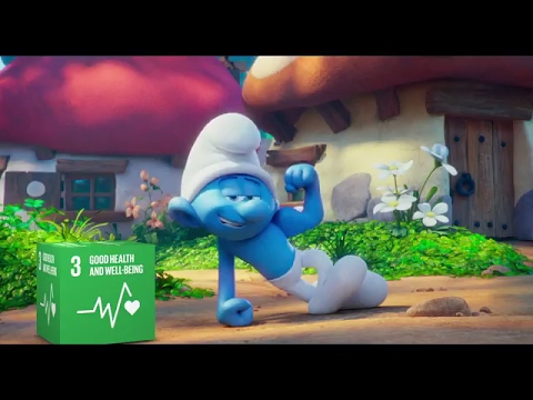 International Day of Happiness 2017 - Small Smurfs Big Goals
