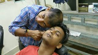 Download Continuous Upper body, hand and head massage with neck, ear, hair cracking   Indian ASMR Mp3 and Videos