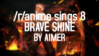 /r/Anime Sings - Brave Shine (Fate stay/night: Unlimited Blade Works OP2) (TV Size)