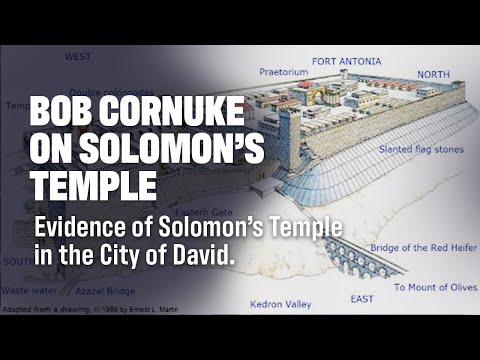 Bob Cornuke's Temple Discovery Presentation on Site in Jerusalem