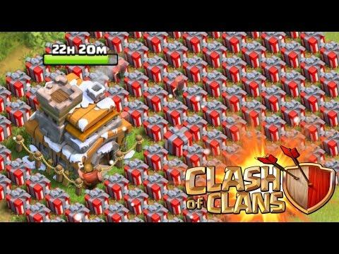 Clash of Clans - SANTA STRIKE 2015! Hidden Feature/Amazing Spell In Update! Christmas Easter Egg!