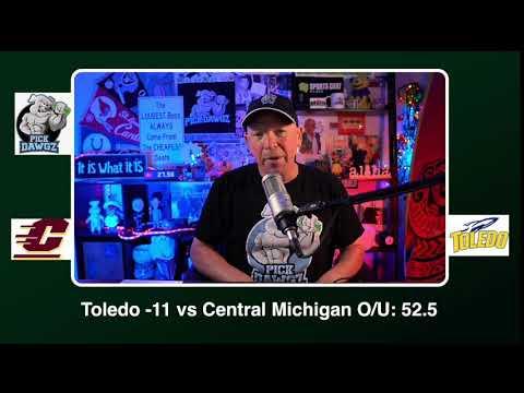 Toledo vs Central Michigan 12/12/20 Free College Football Picks and Predictions CFB Tips