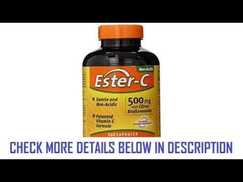 American Health EsterC With Citrus Bioflavonoids 500 Mg 240 Count