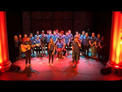 Shallow by Chris and Jessica...Mount Sion Choir
