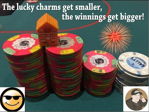 The lucky charms get smaller, the winnings get bigger!    Vlog #128